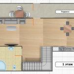 Тумар 3-комнатный 4-местный