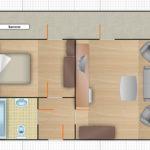 2-комнатный 2-местный номер