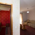3- местный 2-комнатный коттедж