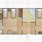 Чынар 2-комнатный 3-местный
