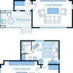 2-местный 2-комнатный в коттедже