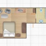 1-комнатный 2-местный (тип1)
