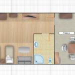 Толкун 1-комнатный 2-местный