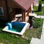 VIP дом 12-местный у озера